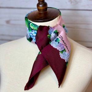 Dolce & Gabbana Accessories - ⚡️SOLD! NWT DOLCE & GABBANA Hydrangea Silk Scarf